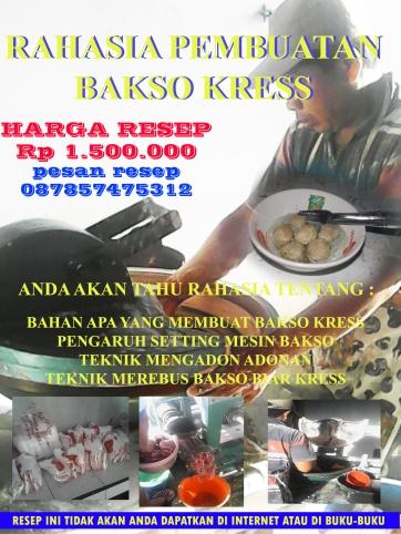 RESEP BAKSO KRESS copy
