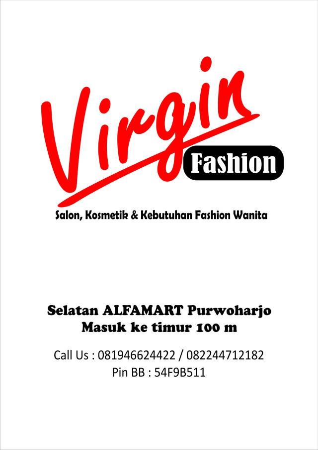 VIRGIN FASHION